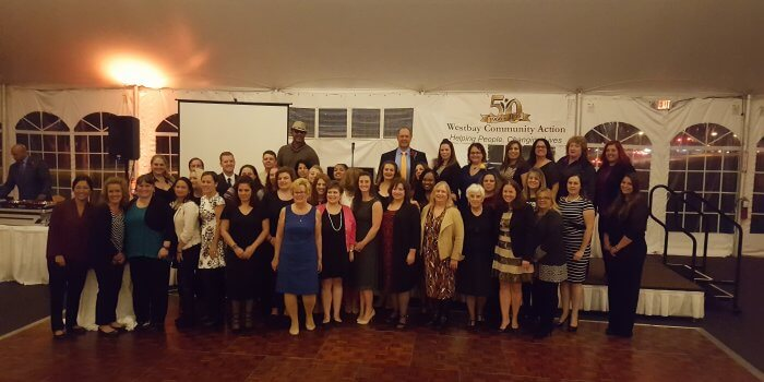 Westbay employees at 50th anniversary celebration