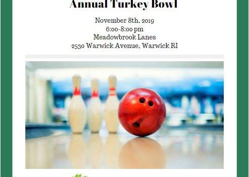 Turkey Bowl 2019 flyer